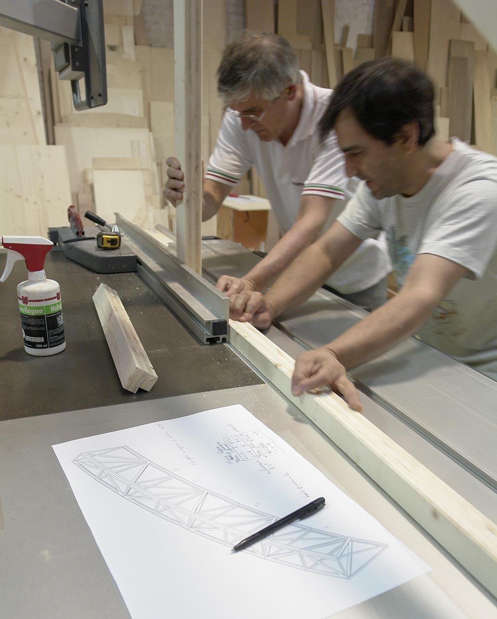 Spazio legno venezia architetti d 39 interni venezia - Architetti d interni milano ...